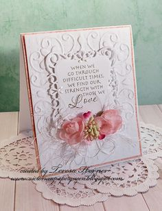 Victorian Paper Queen: Heartfelt wishes and Stampendous stamps  Label 20 SB spring die set