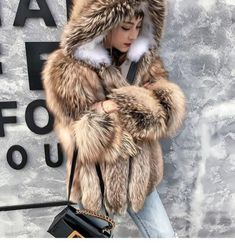 Gray Jacket, Fur Jacket, Hats For Women, Jackets For Women, Fabulous Furs, Fox Fur Coat, Fur Fashion, Fasion, Latest Outfits