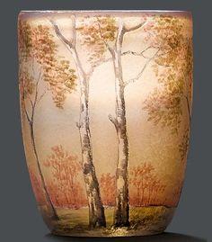 c.1900 Daum Nancy Art Nouveau Miniature Vase