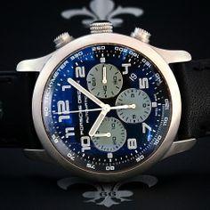 Serviced PORSCHE DESIGN P6612 Titanium Chronograph Date Watch ETA Cal. 2894-2