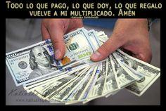 Afirma; El Universo me suministra Abundancia, Dinero y Prosperidad  http://decretosyafirmaciones.com/comienza-mi-abundancia/