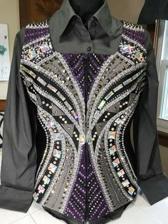 Western Show Shirts, Western Show Clothes, Horse Show Clothes, Western Jackets, Horse Clothing, Rodeo Outfits, Equestrian Outfits, Western Outfits, Western Wear