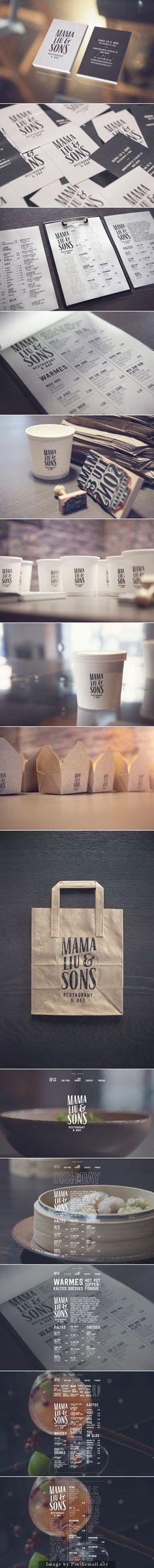 MAMA LIU & SONS  Branding corporate identity stationary packaging by atelier olschinsky