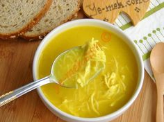 Chicken Soup with Turmeric Illustrated Recipe – Recipes Soup Recipes, Chicken Recipes, Turkish Recipes, Ethnic Recipes, Natural Fertility, Fiber Diet, Recipe Please, Food Illustrations, Chicken Soup