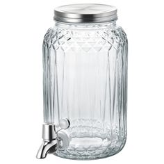 Shop IKEA's collection of quality glassware at affordable prices including complete sets, wine glasses, pitchers, drinking glasses, carafes and more at IKEA. Cold Drinks, Beverages, Stainless Steel Faucets, Ikea New, Ikea Family, Indoor Plant Pots, Plastic Animals, Drink Dispenser, Summer Parties