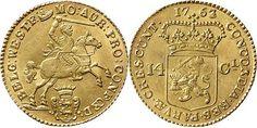 NumisBids: Schulman b.v. Auction 346, Lot 271 : Provinical - WEST-FRIESLAND Het Gewest 1581 - 1795 Gouden rijder...