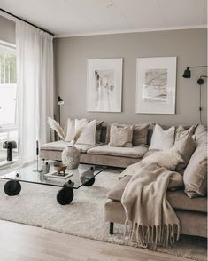 New Living Room, Home And Living, Living Room Decor, Living Room Interior, Living Room Inspiration, Home Decor Inspiration, Design Salon, Home And Deco, House Rooms