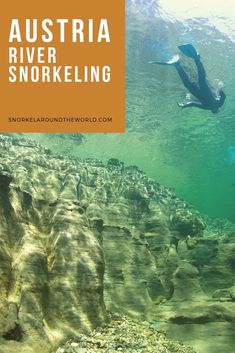 Looking for a great summer activity in Austria? Try river snorkeling in the Alps and discover freshwater springs! Heart Of Europe, Summer Activities, Snorkeling, Fresh Water, Austria, Around The Worlds, River, Explore, Diving