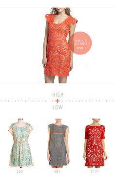 High + Low: The Lace Dress | A special post by @Julie for Creature Comforts