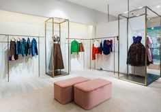 #Delpozo celebrates the reopening of @boutique_no7 in Moscow with an amazing corner.