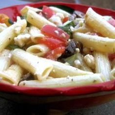 Pasta salad recipes - Greek Pasta Salad