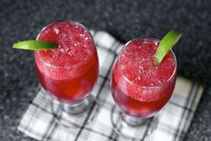 blackberry gin fizz (by smitten kitchen)