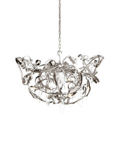 Delphinium Chandelier Lamp by Brand Van Egmond. It is a small step from the purity of nature to the pleasures of life, Lighting, Hanging Lights, Lighting Design, Chandelier Lamp, Crystal Chandelier, Interior Deluxe, Lighting Showroom, Chandelier, Large Chandeliers