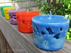 how to make ice candles , crafts, how to, repurposing upcycling