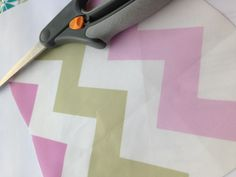 Pink & Tan Chevron fabric by Stickelberry  Available on Spoonflower.com #fabric #wallpaper #wrapping paper