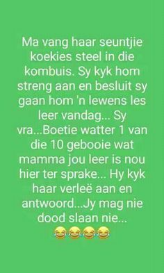 Afrikaans, Faith Quotes, Funny Pictures, Funny Pics, Funny Jokes, Words, Caricatures, Bonsai, Diamond