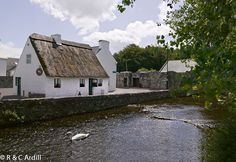 Quiet Man Cottage, Cong, Co. Mayo, Ireland