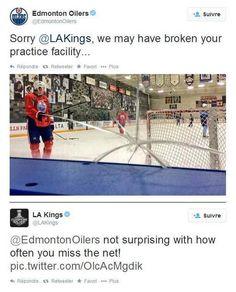 LA Kings Twitter account at it again! Haha