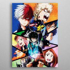 Anime Boku Nein Hero Academia Mein Hero Academia Power Plakat Malerei eNwrg