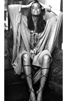 Carly Simon by David Bailey, 1971.