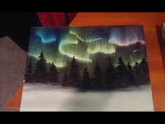 Beginners learn to paint Acrylic | Aurora Borealis Landscape | The Art Sherpa - YouTube