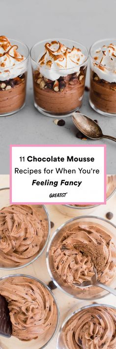 Is your mouth watering yet? #greatist https://greatist.com/eat/chocolate-mousse-recipes