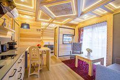 Willa Tatiana - cztery luksusowe wille w centrum Zakopanego Dom, Nespresso, Divider, Studio, Furniture, Home Decor, Decoration Home, Room Decor, Studios