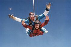 Parachute jump.