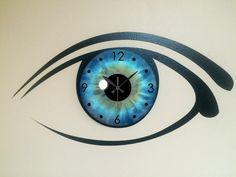 Blue Eye Iris Eyeball Custom Large Round Clock. Reloj de Pared, home decor, decoración. Producto disponible en tienda Zazzle. Decoración para el hogar. Product available in Zazzle store. Home decoration. Regalos, Gifts. Link to product: http://www.zazzle.com/blue_eye_iris_eyeball_custom_large_round_clock-256328285367860562?CMPN=shareicon&lang=en&social=true&rf=238167879144476949 #reloj #clock #ojo #eye