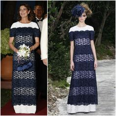 03 AUGUST 2013  Princess Caroline in Chanel (Spring 2013 Couture)