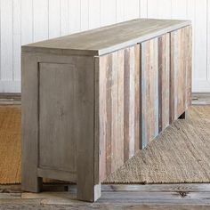 RECLAIMED BARN WOOD CONSOLE, LARGE
