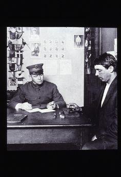 Intelligence testing of immigrants, Ellis Island, 1910