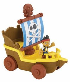FisherPrice Disney Jake and The Never Land Pirates Sail N Roll Jake * Want additional info? Click on the image.