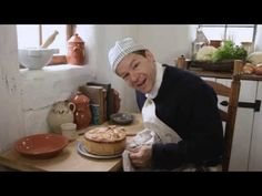 Vegetable Pie - 18th Century Cooking with Jas Townsend and son S3-E14 - link to web page - http://savoringthepast.net/2013/05/28/standing-crust-pie-recipes/