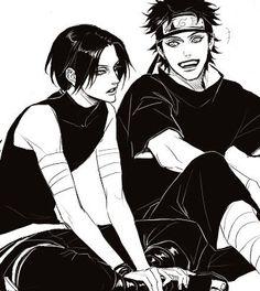 Itachi and Shisui #uchiha #shisui #itachi