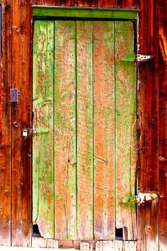 Colorful Old Barn Wood Door Photograph by James Bo Insogna - Colorful Old Barn Wood Door Fine Art Prints and Posters for Sale Cool Doors, The Doors, Unique Doors, Windows And Doors, Wooden Barn Doors, Old Barn Doors, Barn Wood, Rustic Barn, When One Door Closes