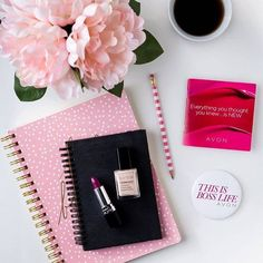 """ARE YOU READY TO SAY """"YES"""" TO AVON? Become your own Beauty Boss.  Earn up to 50% commission, work your own hours and sell online or in person.  To sign up visit www.sellavon.com and enter reference code: shirlean walker"""