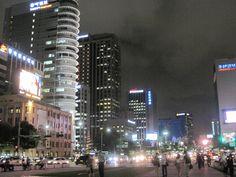 Downtown.  Seoul, Korea.