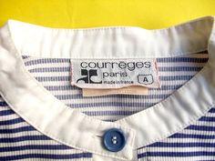 COURREGES vintage summer jacket size 1 by lesclodettes on Etsy, $90.00