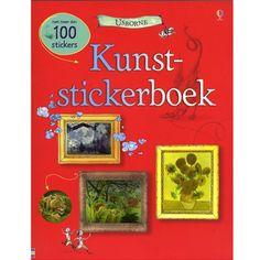 kunststickerboek   usborne