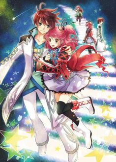 Asbel and Cheria are so cute together