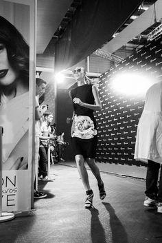Backstage Juana Martín Spring 2015 Madrid