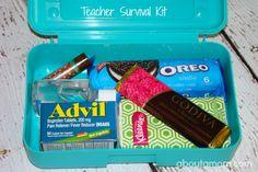 Teacher Survival Kit - Teacher Back to School Gift
