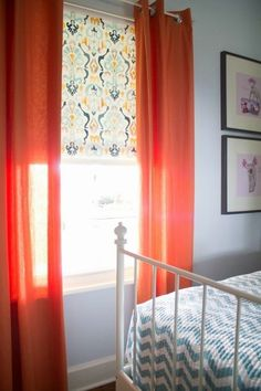 25+ Cheap Makeover Ideas for Basic Vinyl Roller Shades | Apartment Therapy