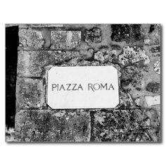 Piazza Roma Post Card - $0,93