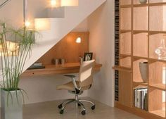 under stair space   15 Productive Ideas To Maximize Space Under Your Stairs