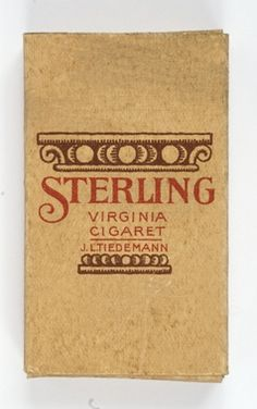 Digitalt Museum - Cigarette packaging