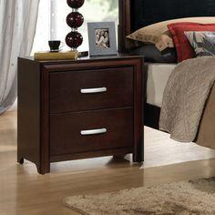 2 Drawer Nightstand - http://delanico.com/nightstands/2-drawer-nightstand-590563747/