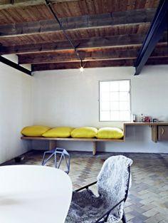 Hemma på Rynge - ein ehemaliger Kornspeicher, von Tommy Carlsson umgebaut und als Kreativspace für KünstlerInnen konzipiert