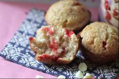 Yummy White Chocolate Raspberry Muffin Recipe